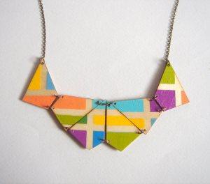 Geometrische Formen Kette von LiKeGjewelry um ca. 26 Euro
