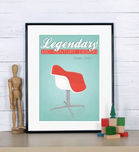 Poster Eames chair