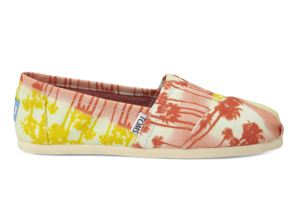 TOMS - Palm Tree Orange