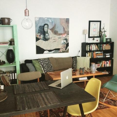 Evelynes Lieblingsplatz in ihrer Wohnung - hach,.. wunderschön!