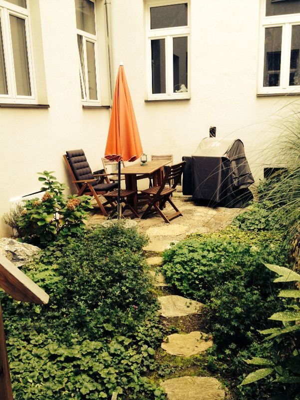 Da chillt Dani gerne - in ihrem Garten!