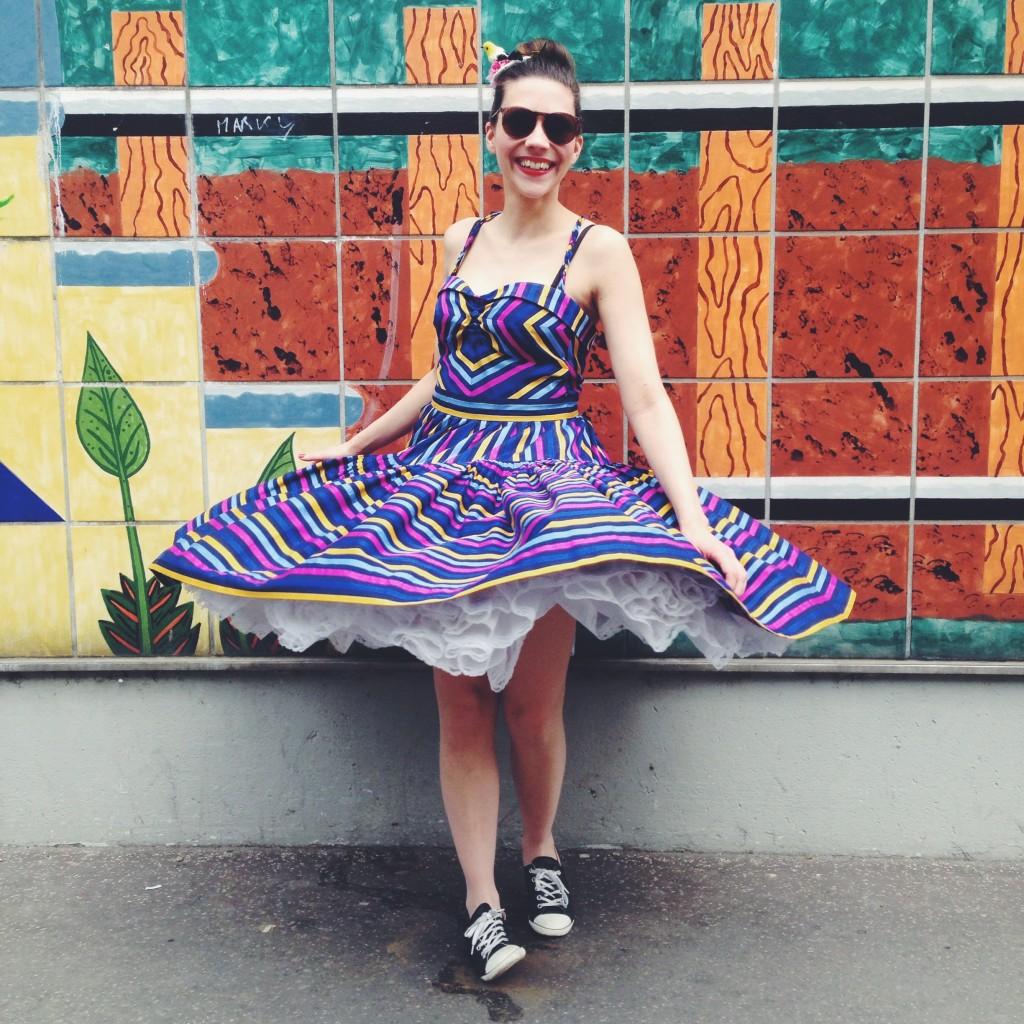 Endlich weit genug - mein liebstes Lena Hoschek Kleid!