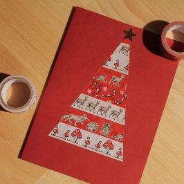 DIY: Weihnachtskarte