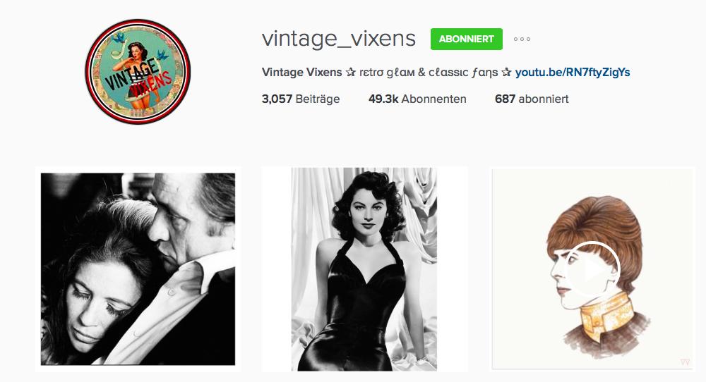 vintage vixens instagram