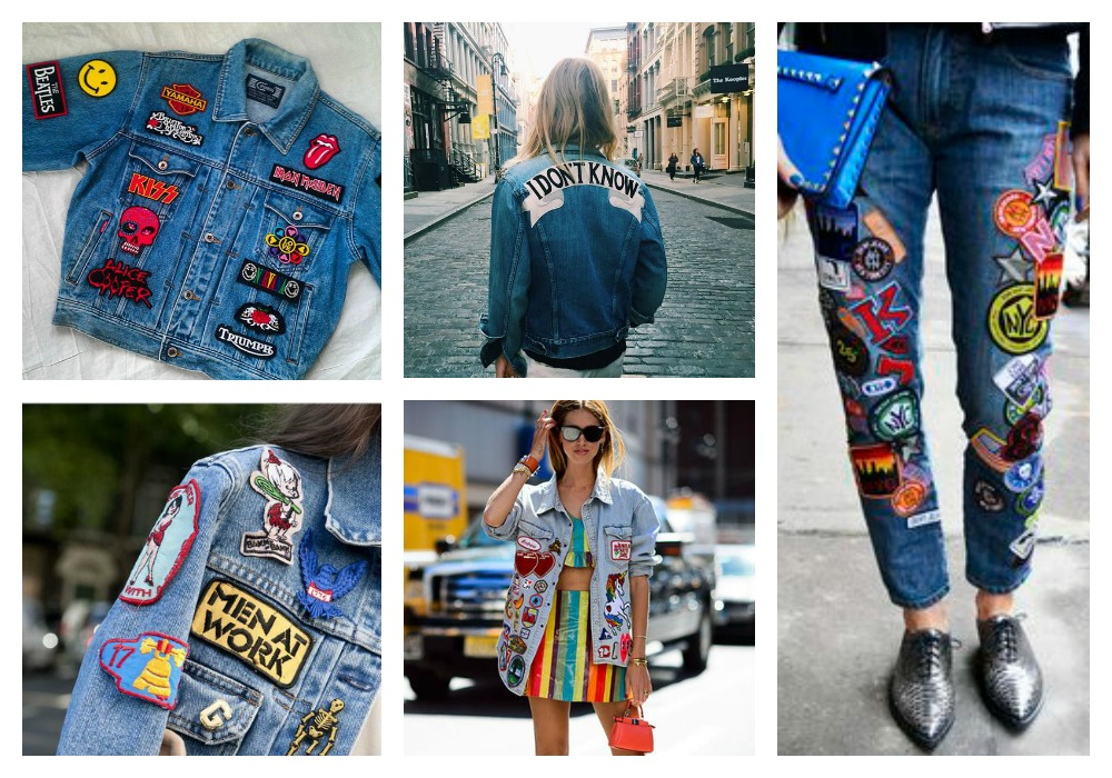 patches jeans jacket