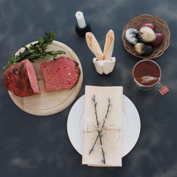 Ostereier, rotes Brot und die Bloggerparade