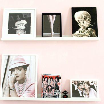 GEWINNSPIEL: 50 Euro Posterlounge und die rosa Wand