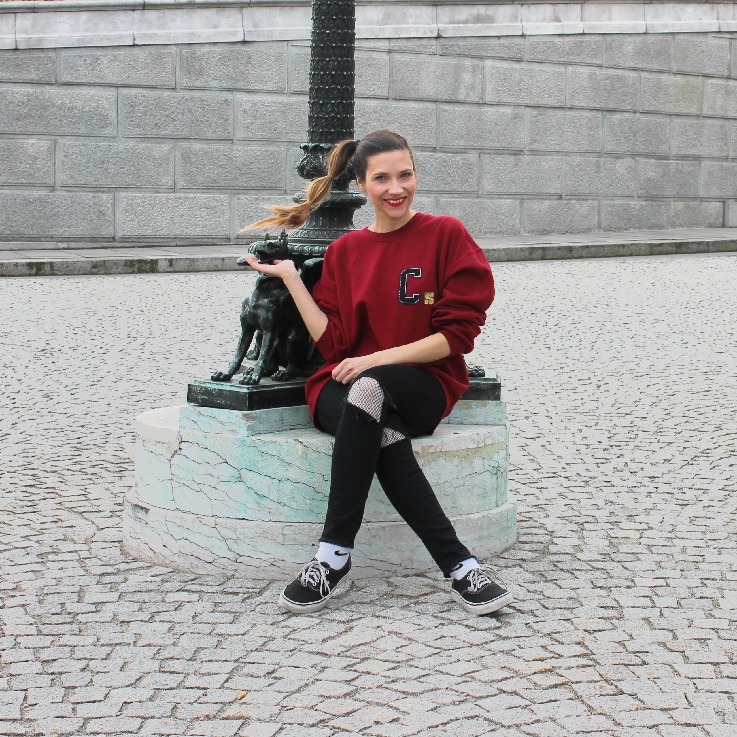 wald berlin sweater initialen