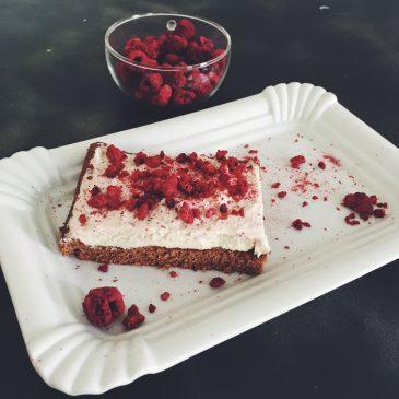 Rezept: Himbeer-Blechkuchen