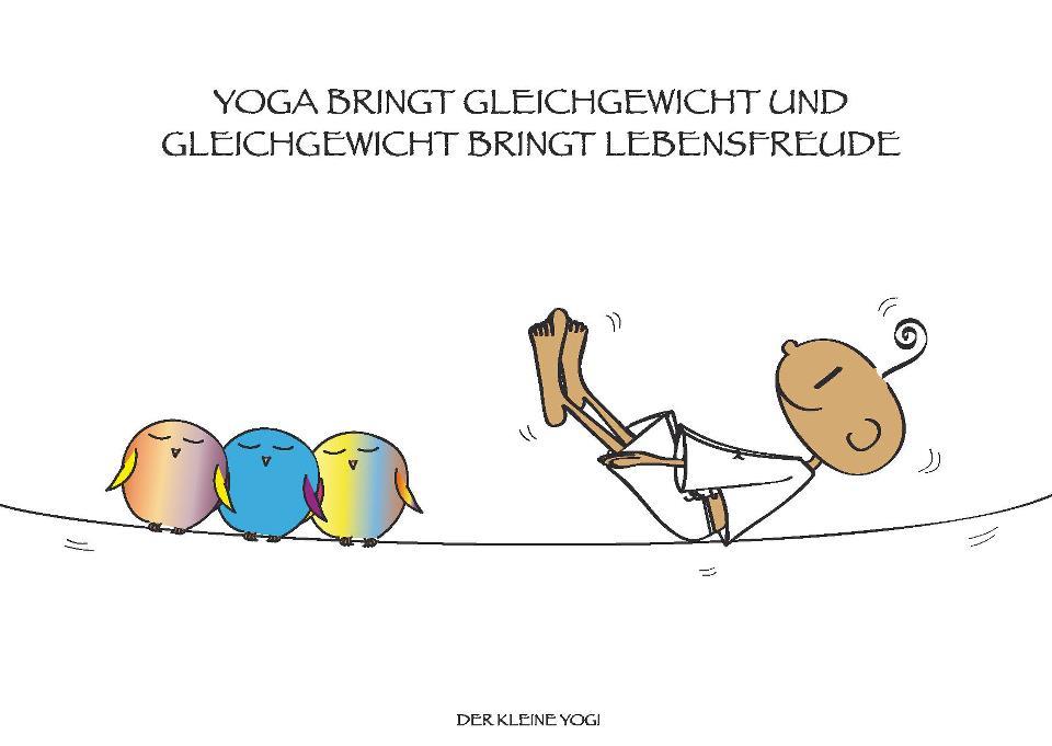 der kleine yogi spruch