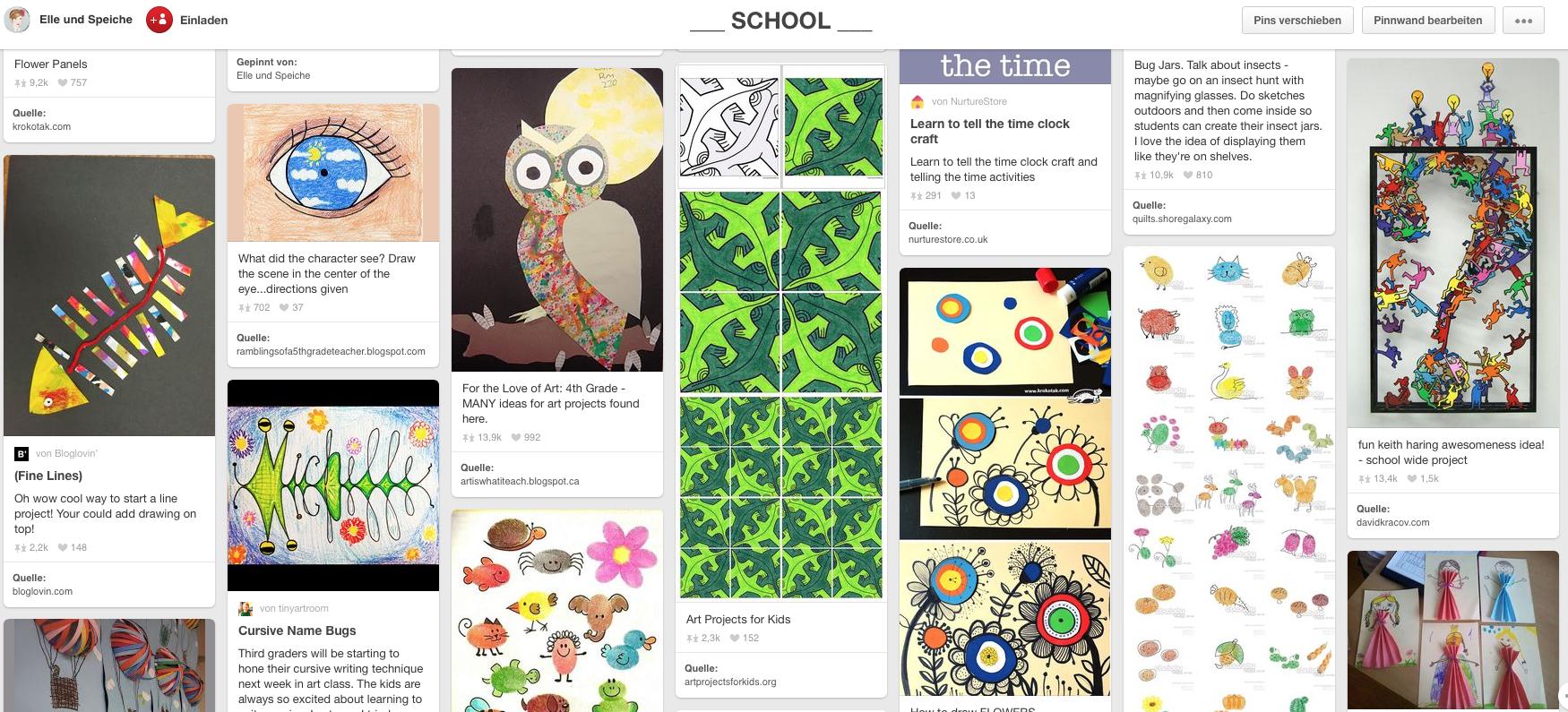 pinterest school ideas