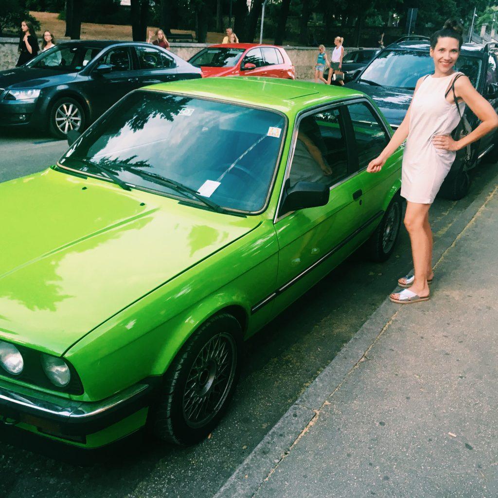 Ich und mein Auto. Silberne Schuhe - Nummer 4.