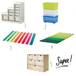Gib mir Fünf: IKEA- Needs für die Klasse