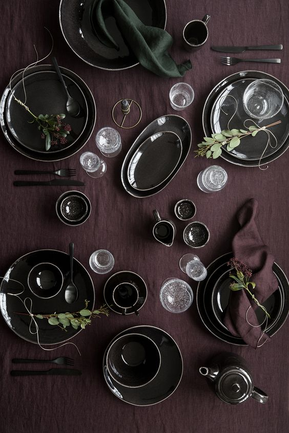 burgundy-table