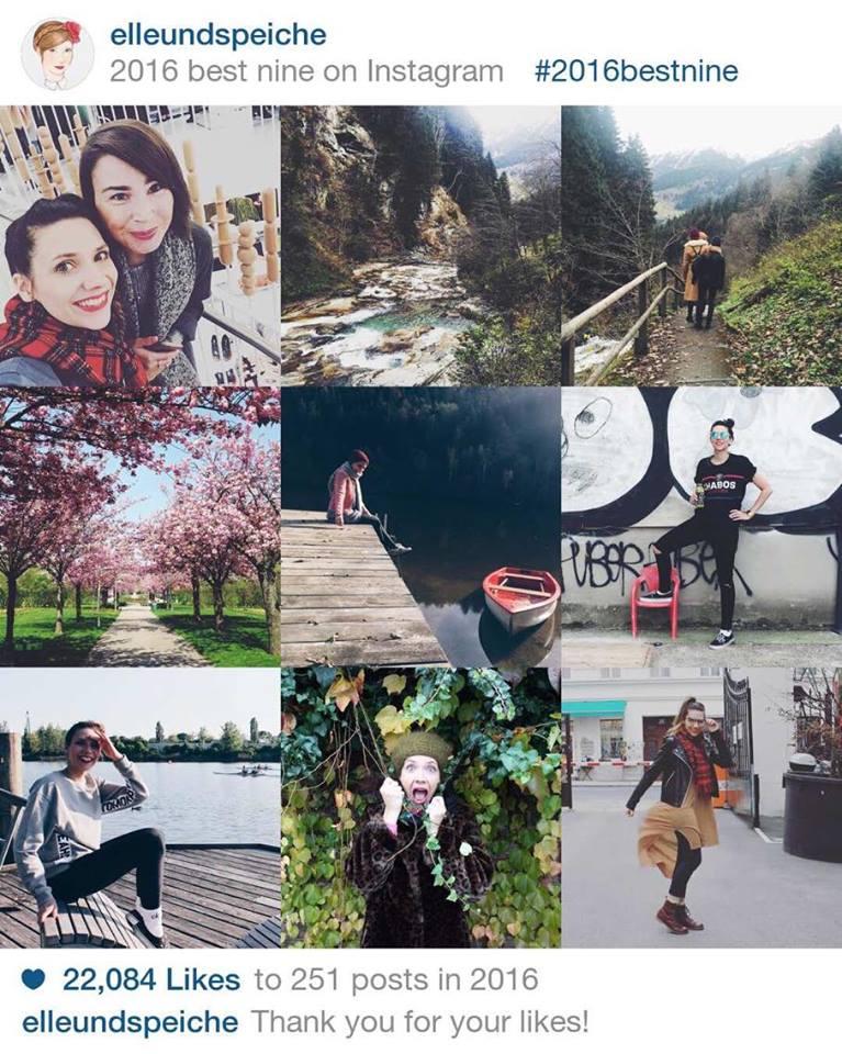 """Das sind auf Instagram meine """"Best 9 - 2016"""". Nur einige meiner Lieblingsmomente des Jahres sind hier dabei!"""