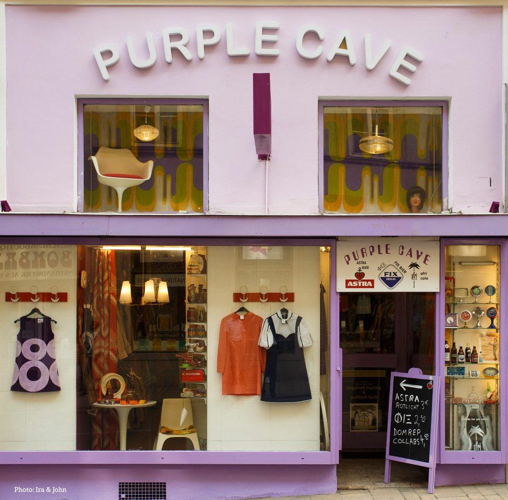 purple cave vintage