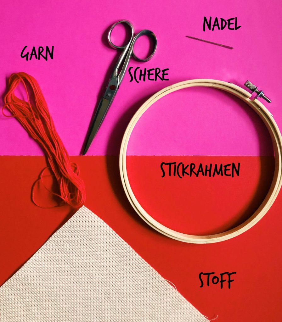 So fange ich mit dem Sticken an – Der Guide zum Stickglück ...