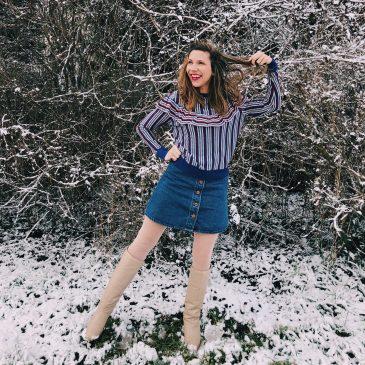 Outfit: Ich habe Schnee auf'm Kopf – ich bin 1 Schneedöner!